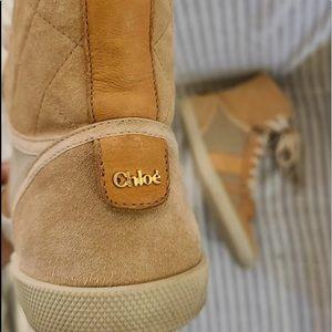 Authentic chloe boot